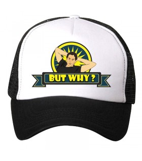 but why art printed cap